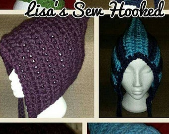 Winter hat, elf hat, chunky hat, chunky winter hat, pixie hat, adult winter hat