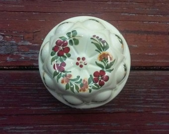 ceramic bundt pan from Portugal