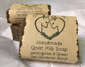 Lemongrass & Green Tea Gardener Soap