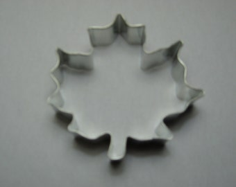 "3.5"" Maple Leaf Cookie Cutter"