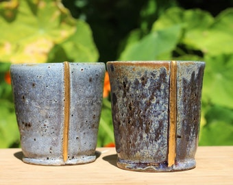 Gold Luster Wine Tumblers