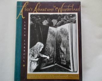 90s vintage book Alice's Adventures in Wonderland - Lewis Carroll, Abelardo Morell