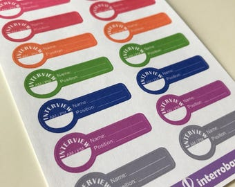 A19 - Interview - Planner Stickers