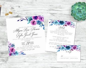 The Ally - Printable Wedding Invitation Set