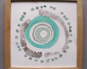 Circle Series Number 16, original artwork