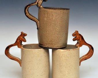 Handmade Chipmunk Mug