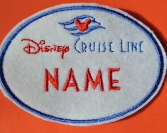 """Applikation / Patch """"Nametag DCL"""""""