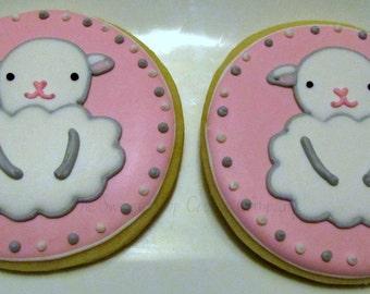 Little Lamb cookies 2 dozen