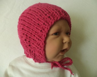 Baby Hat knit cotton newborn Cap