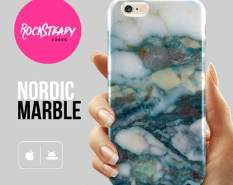 Teal marble iPhone 7 case, iPhone 6s, 8 Plus, X, Samsung galaxy S8, s7, S6, s5 case, 6 Plus case, iPhone 5s Case, 5C marble cover gift