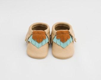 Baby Moccasins // Leather //Handmade // Laguna