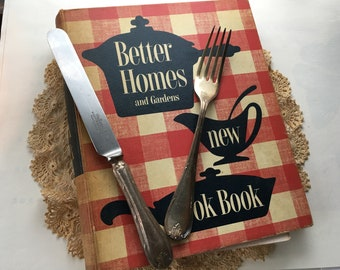 Better Homes and Gardens Cook Book vintage