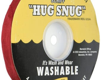 "VENETIAN RED - Hug Snug Seam Binding Ribbon- 100 yard roll 1/2"" Wide - 100% Woven-Edge Rayon - Sewing Trim & Craft Supply"