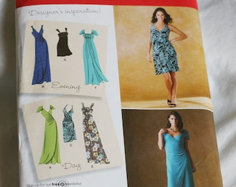 Simplicity 2647 Misses Knit Dress or Gown