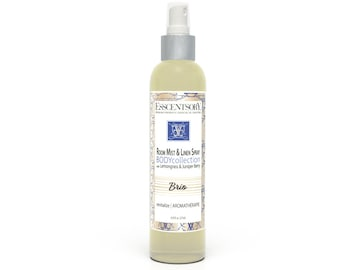 BRIO Room Mist & Linen Spray | Home Fragrance | Lemongrass and Juniper Berry | Air Freshener | Pure Essential Oils | Aromatherapy