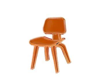 Century Chair Enamel Pin