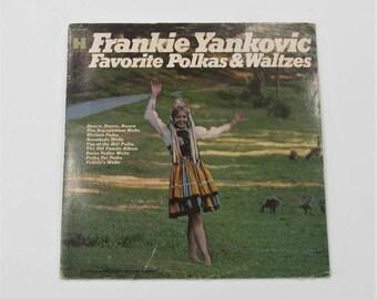 Frankie Yankovic Favorite Polkas & Waltzes Vinyl LP Record Album HS 11375