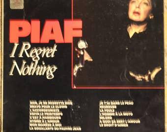 Edith Piaf | I Regret Nothing 33 1/3 RPM (1971, E.M.I. Records, SCX 6477)