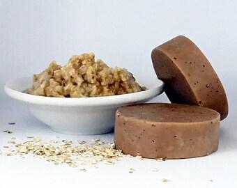 Sparkling Coconut Milk, Oatmeal, & Honey Soap