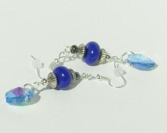 My Heart Is Blue Earrings A04702