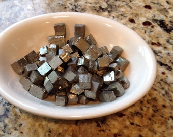 Handpicked Pyrite Cubes