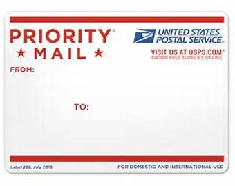 Priority Mail Domestic USA