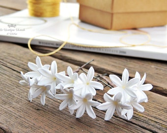 Hairpins bride, Hairpins , Hairpins white , decorative Hairpins , Hairpins decorated , Accessories Dress, Hair Accessories