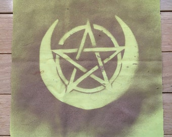 Pentacle/Moon Patch