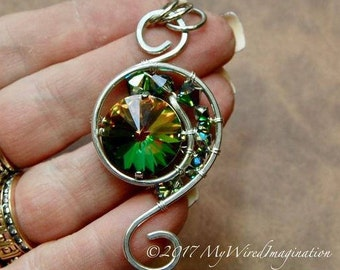 Wire Wrapping Tutorial, Eye of the Hurricane, Wire Wrap Pendant Tutorial, Wire Wrap Tutorial, Step by Step Wire Pendant Tutorial