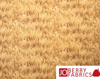 Wheat Field Farm Fabric