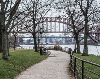Northern Manhattan Pathway in Winter