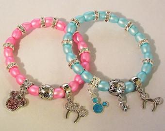 Wishes Do Come True Beaded Stretchy Bracelet