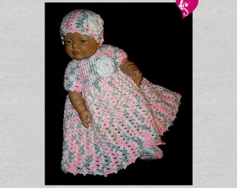 baby dress; crochet baby dress; crochet baby clothes; baby outfit; coming home outfit; newborn girl clothes; baby clothes; baby girl outfit