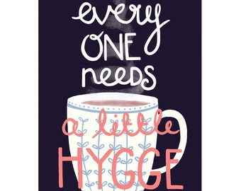 Everyone Needs A Little Hygge Birthday & Just Because Card