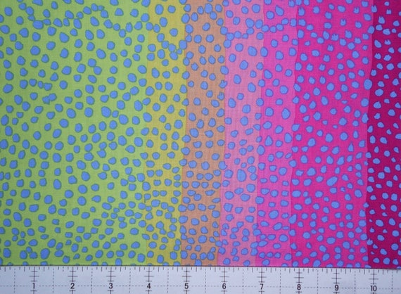 OMBRE PINK Kaffe Fassett Sold in 1/2 yd increments