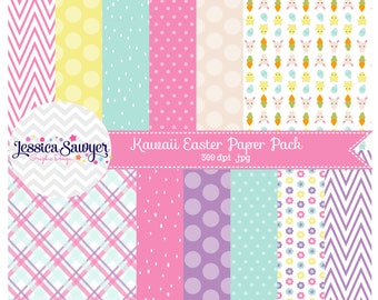 INSTANT DOWNLOAD, easter digital papers for commercial use or personal use