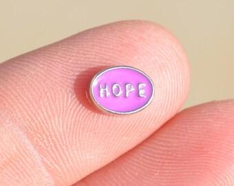 1 Memory Locket Pink HOPE Charm   FL164