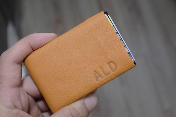 Men's Leather wallet, Men's Wallet, Leather Wallet, Minimalist Wallet, RFID Blocking Wallet