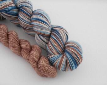 LOVE SOCK self-striping, 014, merino nylon sock yarn,100g