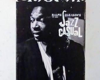 "John Coltrane - ""Ralph Gleason's Jazz Casual"" VHS Video Tape Approx. 30 Minutes/b & w (1963)"