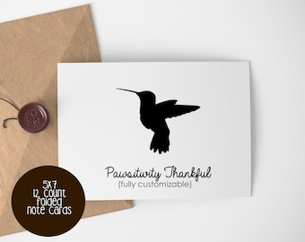 Hummingbird Love Note Cards