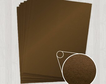50 Sheets of Text Paper - Brown - DIY Invitations - Paper for Weddings & Other Events
