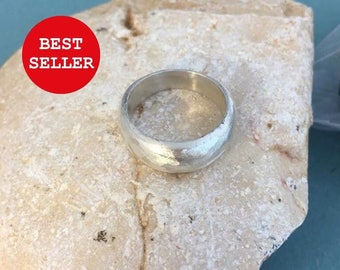 On sale  , Silver ring , wide band ring,plain silver ring,  wide ring,wide silver ring,  engagement ring, men's and women ring alternative r