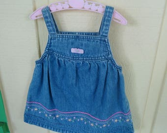 6 Mo Old Girls Jean dress