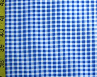 Gingham - Blue  (Order by Print)