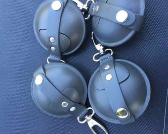 """Leather Pellets Pouches 3.5"""""""