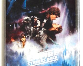 Star Wars: Empire Strikes Back Movie Poster Fridge Magnet