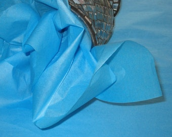 """10 Sheets of Teal Tissue Paper (20"""" x 26"""")"""