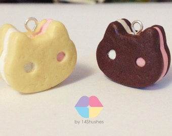 Steven Universe Cookie Cat Polymer Clay Charm