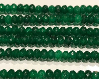 Gemstone Beads, Bulk Beads, Green Onyx Beads, Natural Gemstone Beads, Jewelry Supplies, Jewelry Making, Green Beads, 1 Strand, 4mm Beads